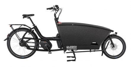 UrbanArrow black rollerbrake kickstand right